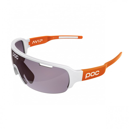 Okulary POC DO HALF Blade Hydrogen White/Zink Orange